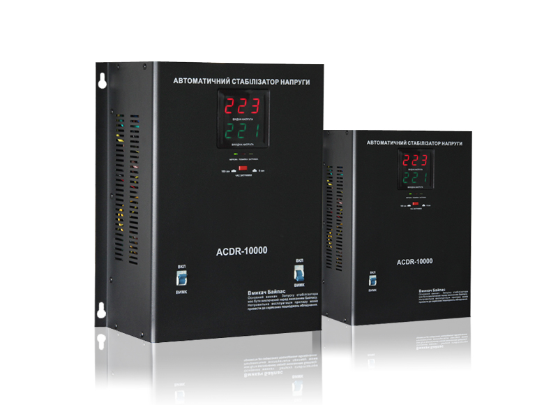 Wall Mount Relay type Automatic Voltage Regulator ACDR Series